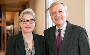 Monique Cormier et Clément Duhaime